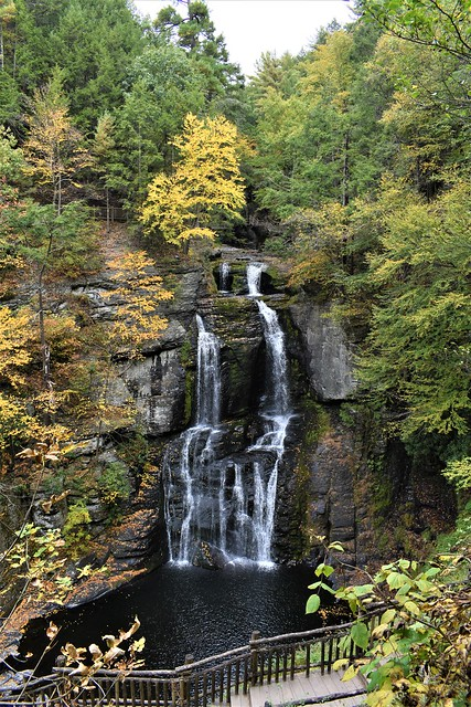 Bushkill Falls @  Pennsylvania's Pocono Mountains