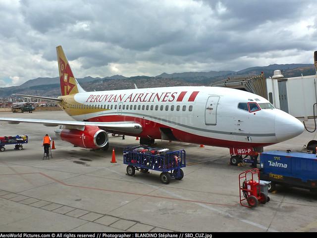 [SBD] #Peruvian.Airlines #P9 #Boeing #B737 #B732 #OB-1851-P #CUZ #awp