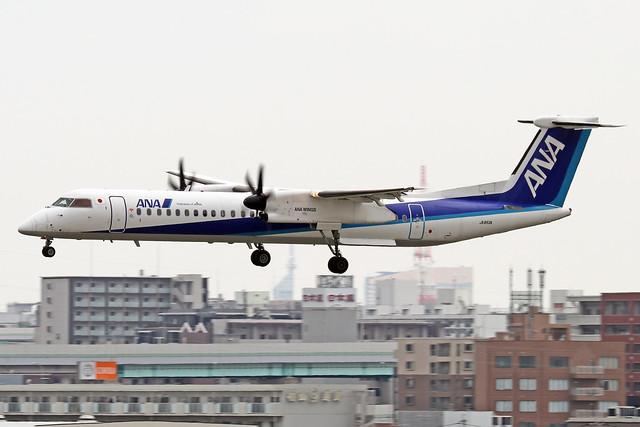 JA853A  -  Bombardier Dash 8-Q402  -  ANA Wings  -  FUK/RJFF 07/10/19
