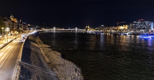 Budapest at night / Ночной Будапешт