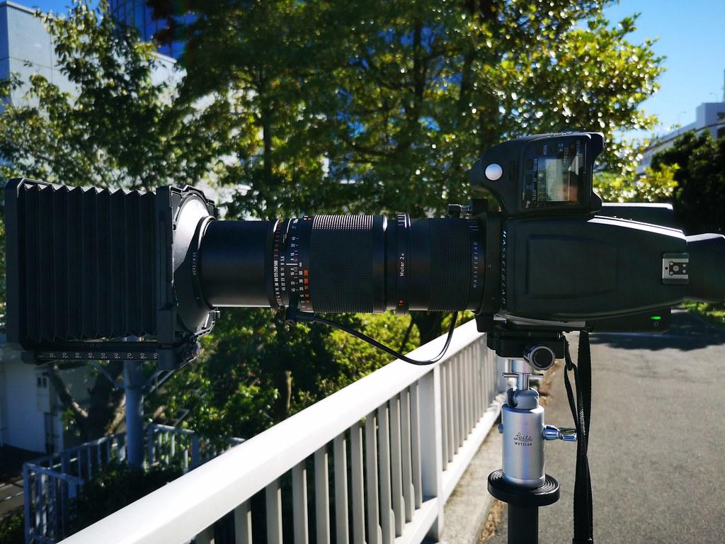 [写真] CF Sonnar 250/5.6をデジタルで使う