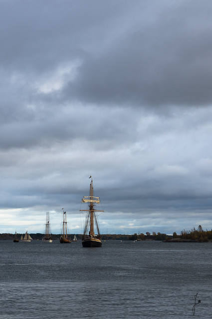 Ships arrive