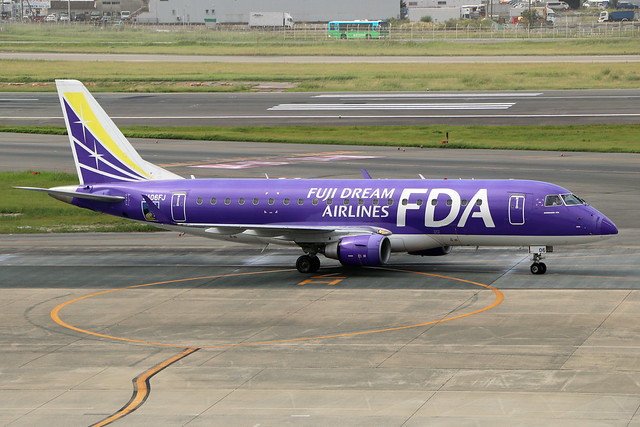 JA06FJ  -  Embraer ERJ-175STD  -  Fuji Dream Airlines  -  FUK/RJFF 7/10/19