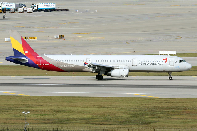 HL8265  -  Airbus A321-231  -  Asiana Airlines  -  ICN/RKSI 6/10/19