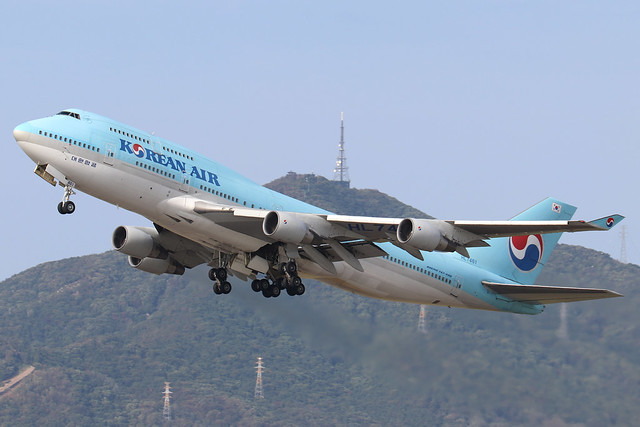 HL7461  -  Boeing 747-4B5  -  Korean Air  -  GMP/RKSS 6/10/19