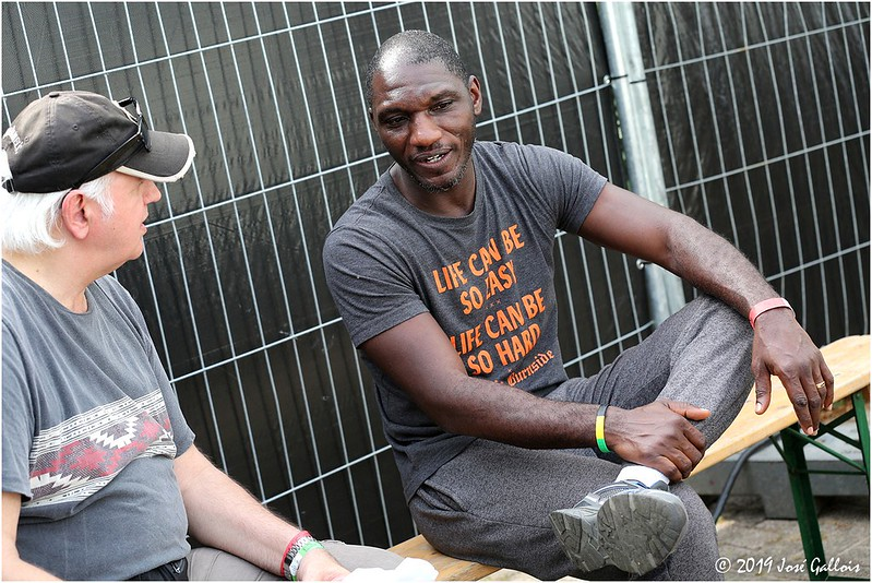 Interview Cedric Burnside @ Ribs & Blues 2019