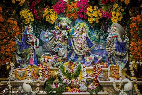 ISKCON Vrindavan Deity Darshan 13 Oct 2019