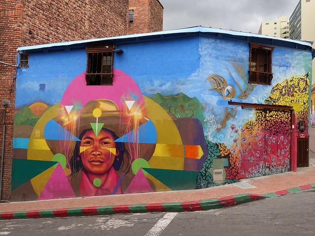 Street art in Bogota (artist: Guache)