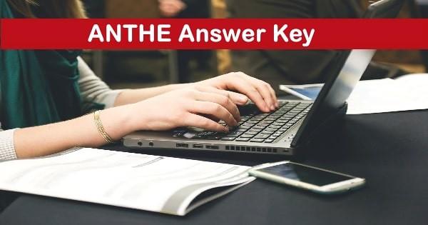 anthe answer key