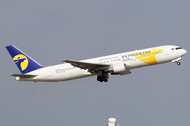 EI-FGN  -  Boeing 767-3BG (ER)  -  MIAT Mongolian Airlines  -  ICN/RKSI 6/10/19