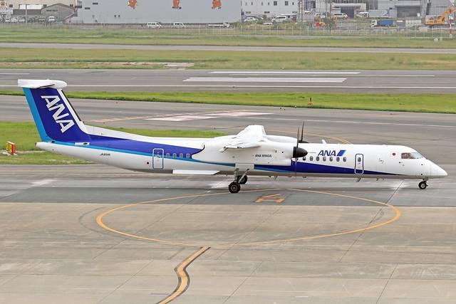 JA854A  -  Bombardier Dash 8-Q402  -  ANA Wings  -  FUK/RJFF 07/10/19