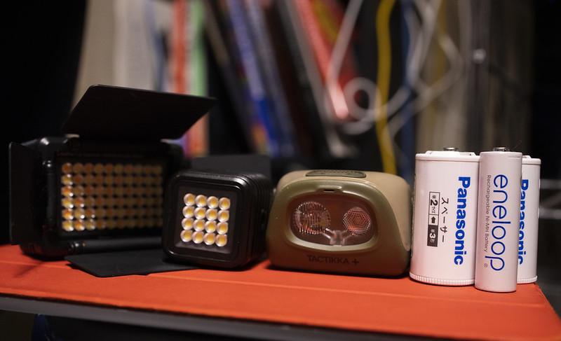 停電対策に使えたカメラ周辺機器たち