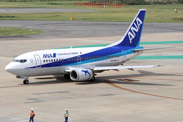 JA307K  -  Boeing 737-53K  -  All Nippon Airlines  -  FUK/RJFF 07/10/19