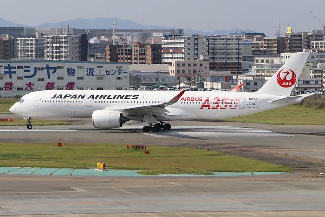 JA01XJ  -  Airbus A350-941  -  Japan Airlines  -  FUK/RJFF 7/10/19