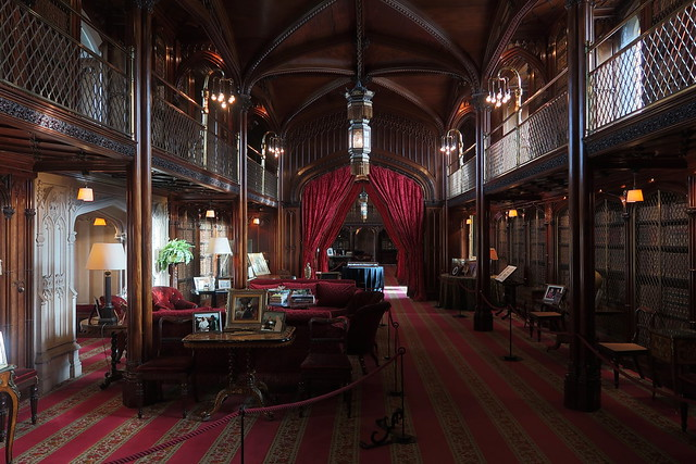 The Library, Arundel Castle