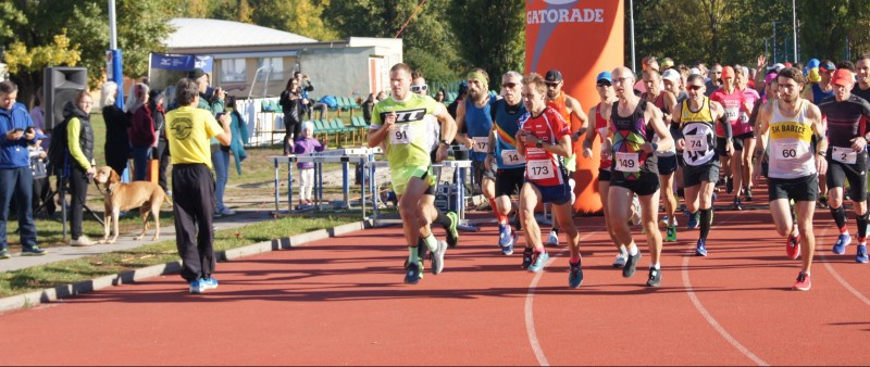 Exner a Kriklová získali podzimní monument - Pražský maraton ve Stromovce