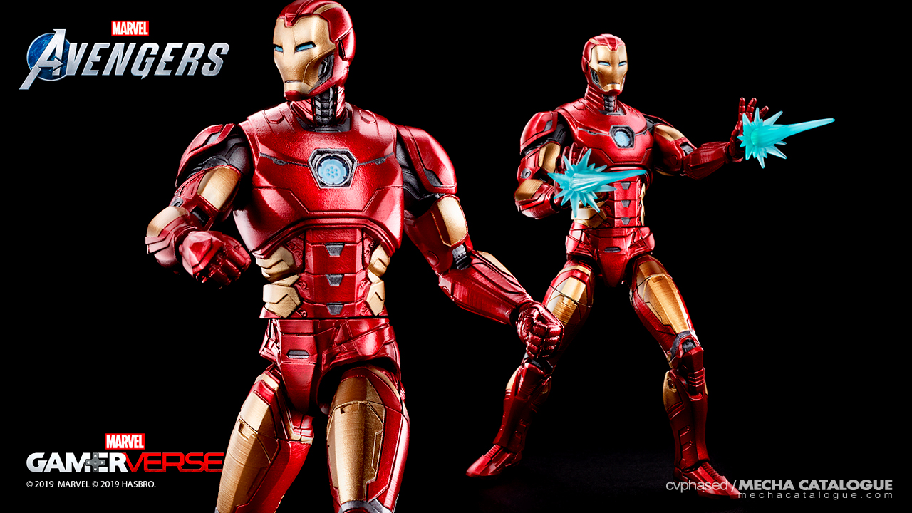 Marvel Legends Series IRON MAN (Marvel Gamerverse / Marvel's Avengers)
