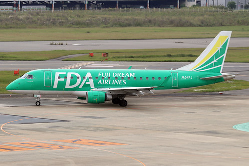 JA04FJ  -  Embraer ERJ-175STD  -  Fuji Dream Airlines  -  FUK/RJFF 7/10/19 | by Martin Stovey