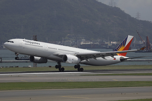 Airbus, A330-343, RP-C8763, VHHH, Hong Kong