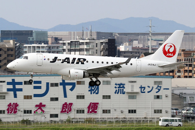 JA214J  -  Embraer ERJ-170STD  -  J-Air  -  FUK/RJFF 7/10/19