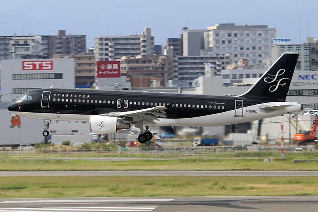 JA08MC  -  Airbus A320-214  -  Starflyer Airlines  -  FUK/RJFF 07/10/19