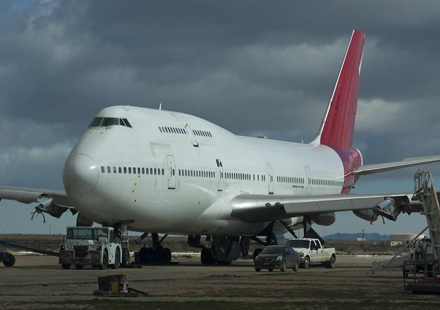 VH-OJS Boeing 747-438 Ex Qantas