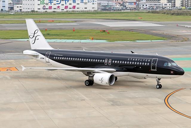 JA09MC  -  Airbus A320-214  -  Starflyer Airlines  -  FUK/RJFF 07/10/19