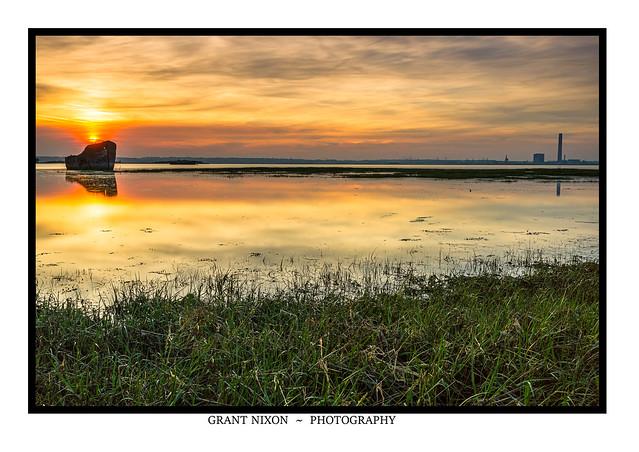 Seawall Sunset