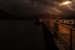 """Light before the storm - """"Sailings Cancelled"""""""