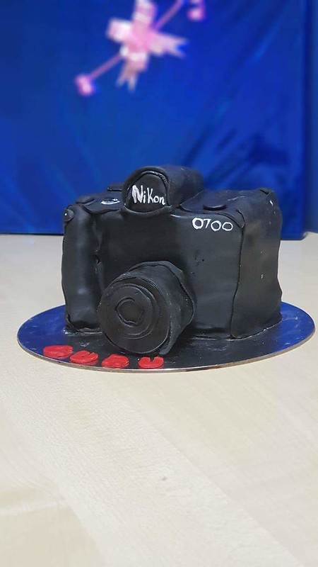 Camera Cake by Kanika Bhatia of Cake for All Occassions
