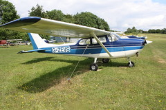 G-ZEVS Reims-Cessna F.172H [0736] Popham 070719