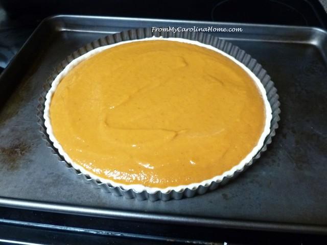 Milk Street Pumpkin Tart at FromMyCarolinaHome.com