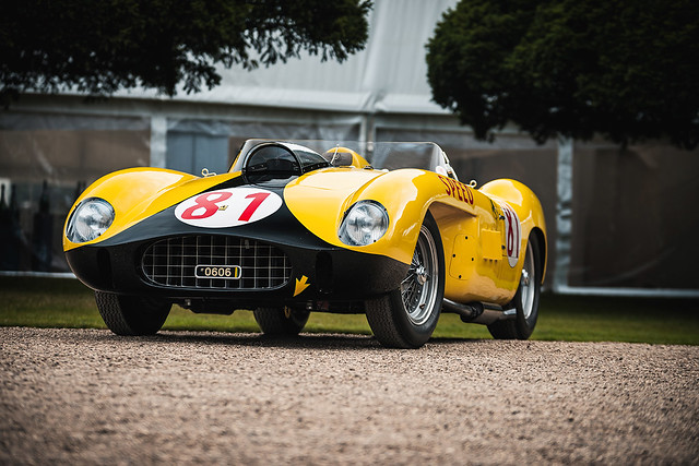 1958 Ferrari 290MM/250TR at the 2019 Concours of Elegance at Hampton Court Palace