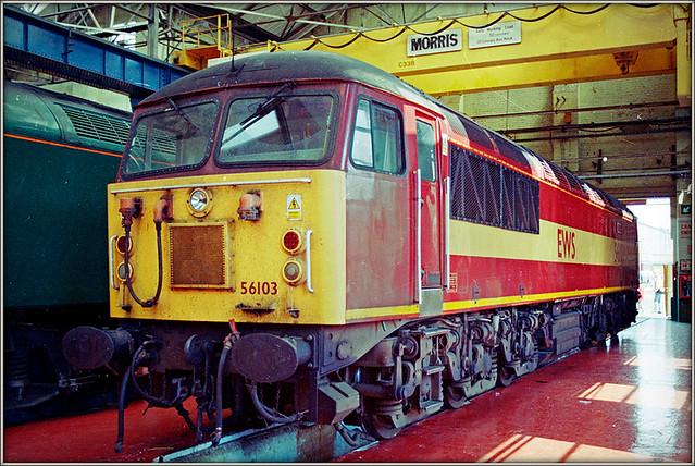 56103, Crewe Works