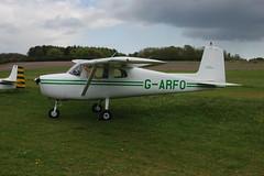 G-ARFO Cessna 150A [150-59174] Popham 030510