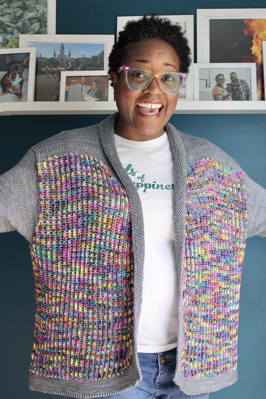 Linus cardigan/Rhinebeck sweater