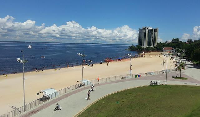 praia 13.10.19. Manaus se prepara para seu 350 anos