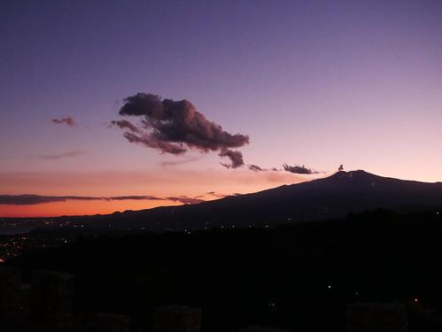 Etna Sunset