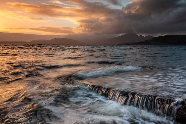Sunset at Ord, Loch Eishort, Isle of Skye Scotland