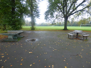 Calthorpe Park - table tennis and benches