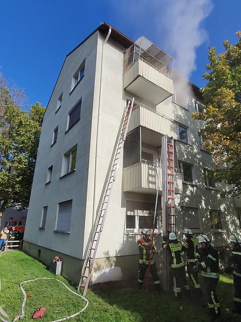 Gemeinschaftsübung Passauer Straße - 12.10.19