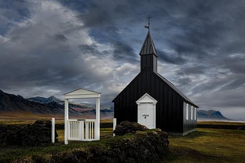 The Black Church - Snæfellsnes Peninsula - Iceland - revised