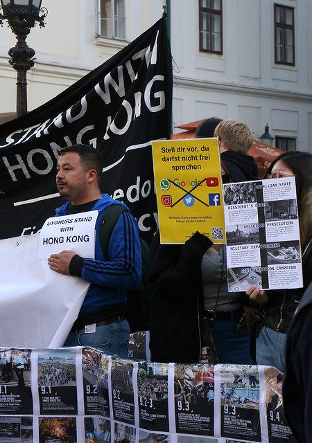 Standing with Hongkong