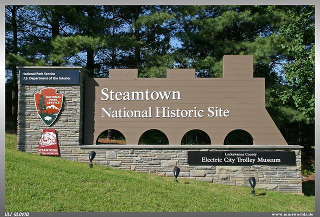 Steamtown Sign