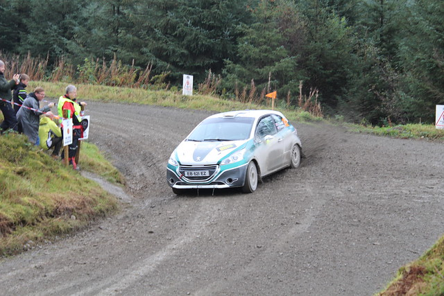 Josh Cornwell & Dai Roberts | Privateer | Peugeot 208 R2