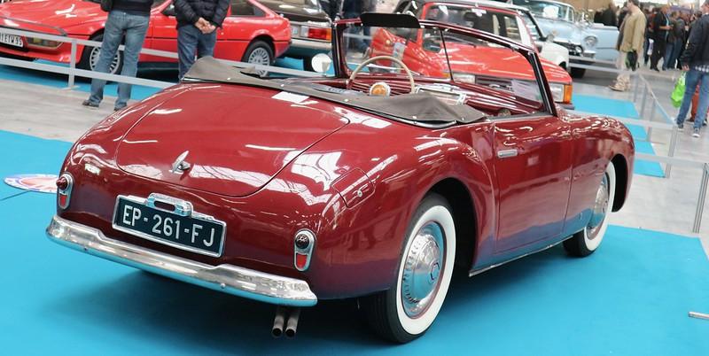 SIMCA 8 Sport Disegno Di PininFarina 1949 -  Automedon 2019 48892186661_47c5486b79_c