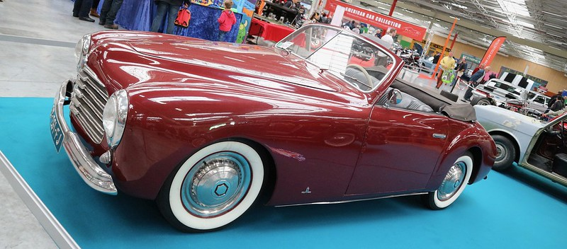 SIMCA 8 Sport Disegno Di PininFarina 1949 -  Automedon 2019 48892187691_99ba585c1b_c