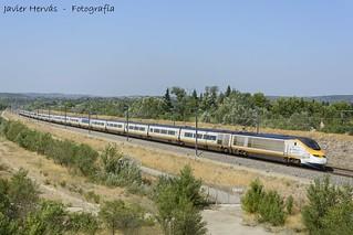 Eurostar en Avignon.