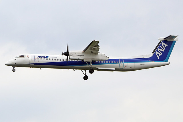 JA842A  -  Bombardier Dash 8-402Q  -  ANA Wings  -  FUK/RJFF 7/10/19