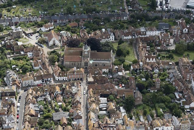 Aerial image - Rye